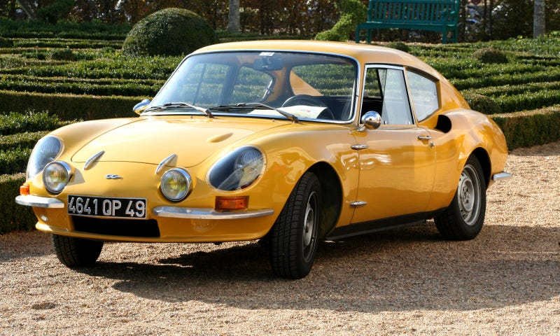 Illustration for article titled Think The Alpine A110 Is Too Mainstream ? Here's The Car For You.