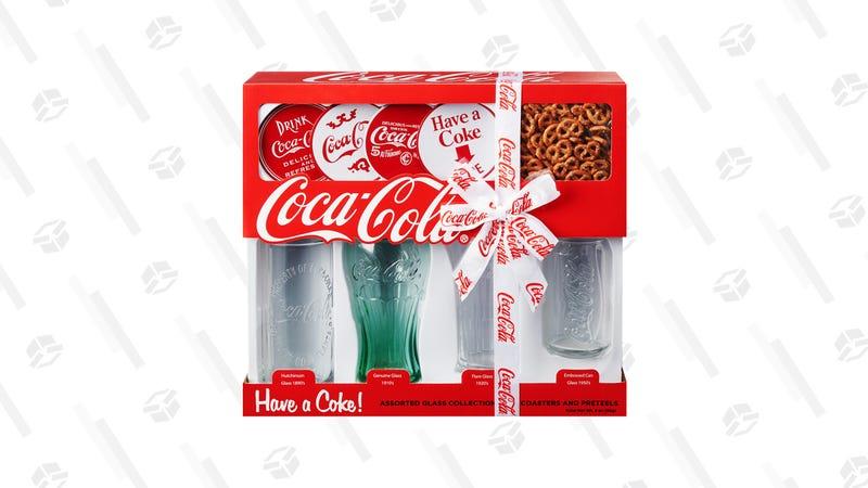 Coca-Cola Glass Collector's Set | $10 | Walmart