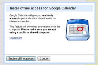 Illustration for article titled Offline Google Calendar Goes Live for Everyone