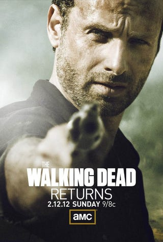 Illustration for article titled Walking Dead Midseason Premiere Poster Gallery
