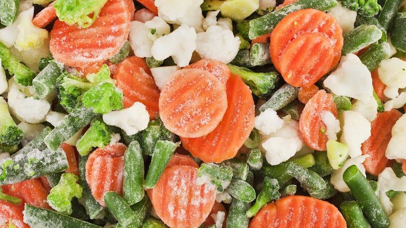 Image: Frozen vegetables / Snowbelle, Shutterstock