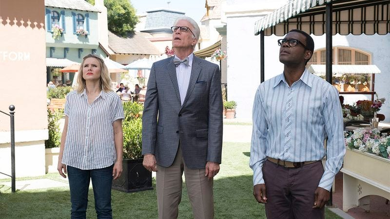 The characters from The Good Place