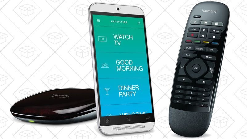 Illustration for article titled Today's best deals: X-Men, Logitech Harmony, and more