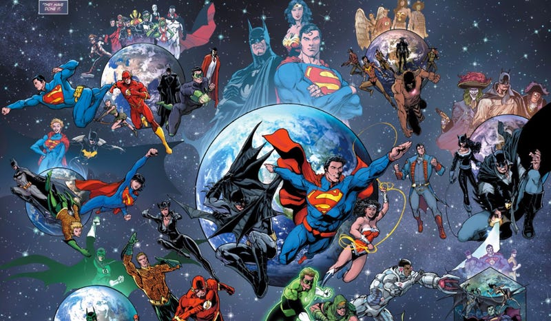Illustration for article titled DC Comics' Superhero Universe Just Changed In Some Huge Ways