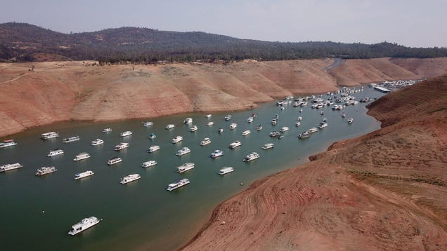 California Hydropower Plant Shuts Down as a Key Reservoir Drops to Record Low