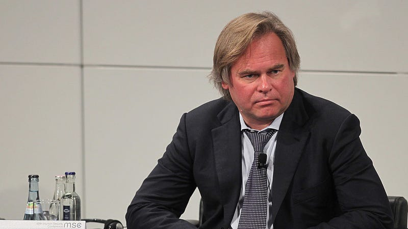 Eugene Kaspersky, CEO of Kaspersky Lab, participates in a panel discussion during day 3 of the 48th Munich Security Conference at Hotel Bayerischer Hof on February 5, 2012 in Munich, Germany. (Photo: Getty)