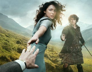 Illustration for article titled New Trailer For Outlander Mixes Time Travel and Polite British Sex