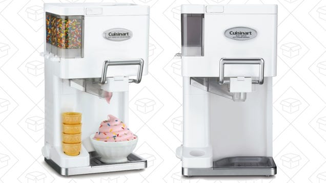 Wait Out the Summer With This Discounted Cuisinart Soft Serve Machine