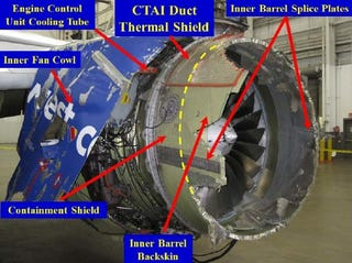 Illustration for article titled NTSB issues update to SWA 1380