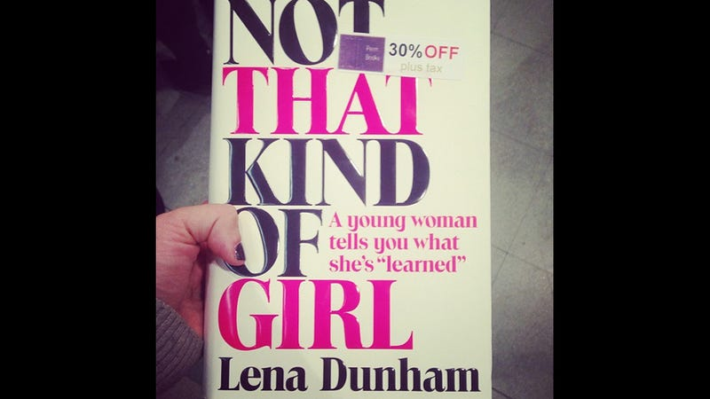 Illustration for article titled Spotted: Lena Dunham's Book, in a Train Station, for 30% Off