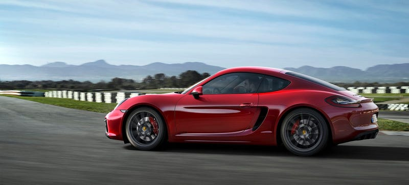 Illustration for article titled America Will Get A Four-Cylinder Porsche Boxster And Cayman Next Year