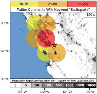 Illustration for article titled Earthquake Spotting Comes to Twitter, Courtesy of USGS