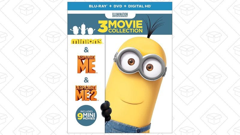 Illustration for article titled Today's best deals: Despicable Me, winter apparel, and more