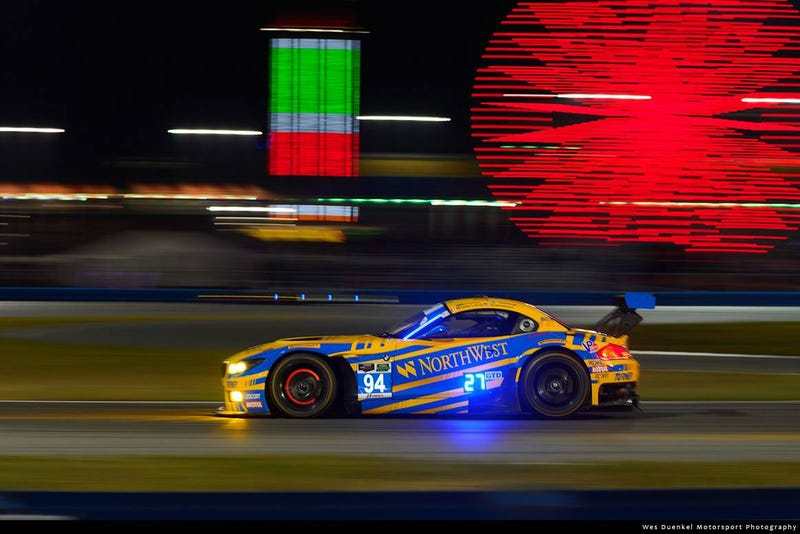 Illustration for article titled Top-Ten Finish for Turner Motorsport BMW Z4 at Daytona 24 Hours