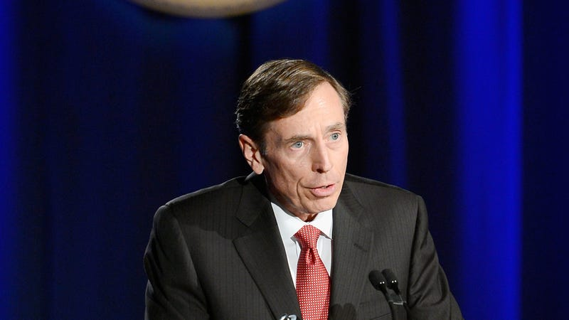 Illustration for article titled David Petraeus Is Super Sorry About That Whole Cheating Thing