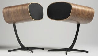 Illustration for article titled Davone Ray Speakers Look Like Eames Chairs For Ears