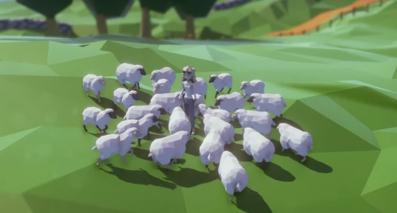 Illustration for article titled The Good Life Shows Off Sheep And Day Drinking In New Gameplay Trailer