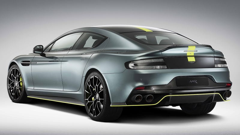 The Aston Martin Rapide Amr Arrives At The Intersection Of