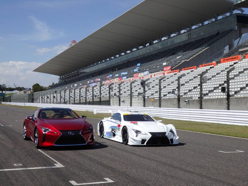 Illustration for article titled The SuperGT Lexus LC500