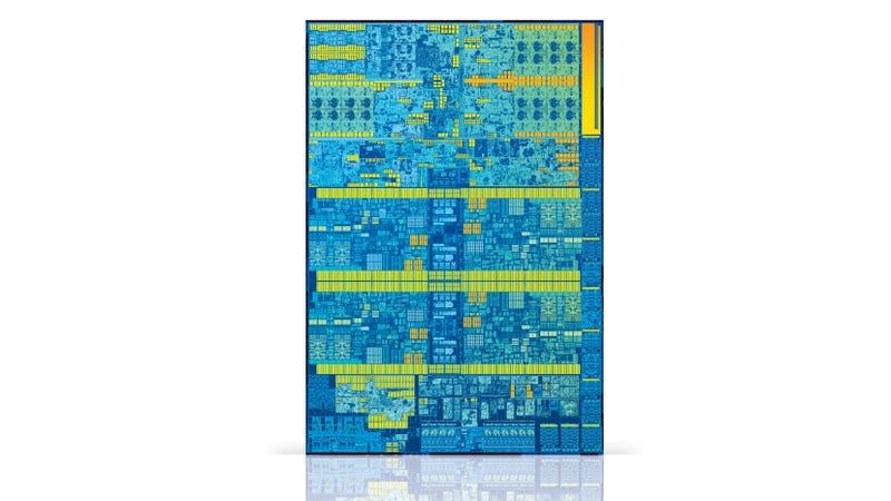 This is the 2015 Skylake microarchitecture, and yes, it's still appearing in brand new CPUs nearly five years later.