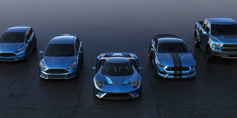 Besides Being Amazeballs The Three Ford Performance Cars That Dropped In Detroit Yesterday The Ford Gt The Mustang Gtr And The  Raptor All Had