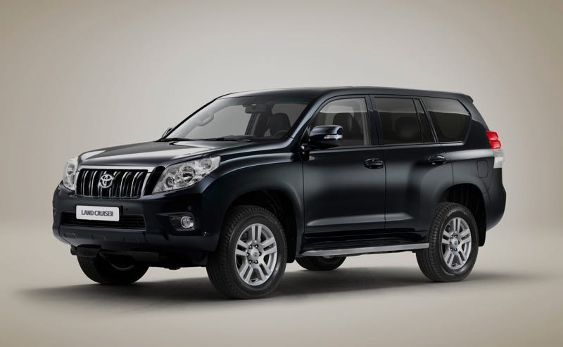 Illustration for article titled 2010 Toyota Land Cruiser Previews New Lexus LX