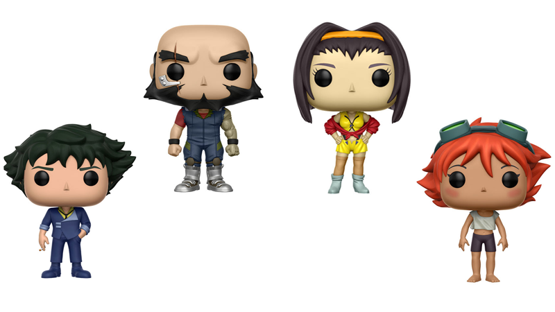 Illustration for article titled Cowboy Bebop Pop Vinyls? Cowboy Bebop Pop Vinyls!