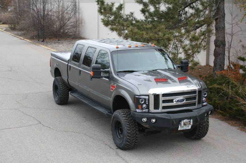 Ford F350 6 Door >> For $49,700, This 2009 Ford F350 Rolls a Six
