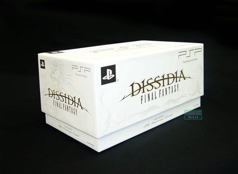 Illustration for article titled Square Enix Does DISSIDIA Bundle Box Right