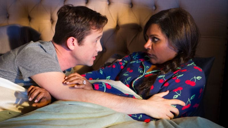 """Illustration for article titled The Mindy Project: """"While I Was Sleeping"""""""