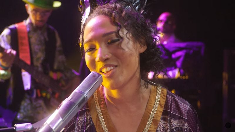 Judith Hill in Back In Time (Behind-The-Scenes at Paisley Park) (Screenshot: YouTube)