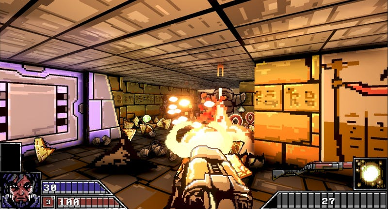 Teen Developer Makes Game Inspired By '90s Shooters That
