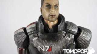 Illustration for article titled Mass Effect Toy Turns Commander Shepard Into Sparkly Burns Victim