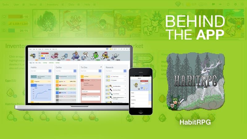 Illustration for article titled Behind the App: The Story of HabitRPG