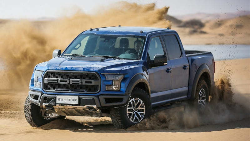 the 2017 ford raptor costs a lot more in china. Black Bedroom Furniture Sets. Home Design Ideas