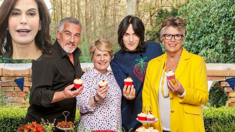 Images via Getty and the Great British Bake-Off.""