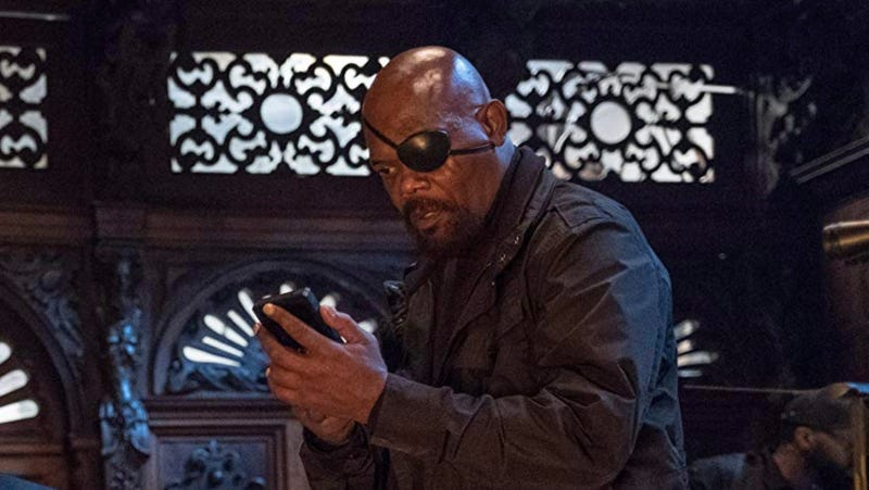 Samuel L. Jackson, seen here in Spider-Man: Far From Home, is joining a new franchise.