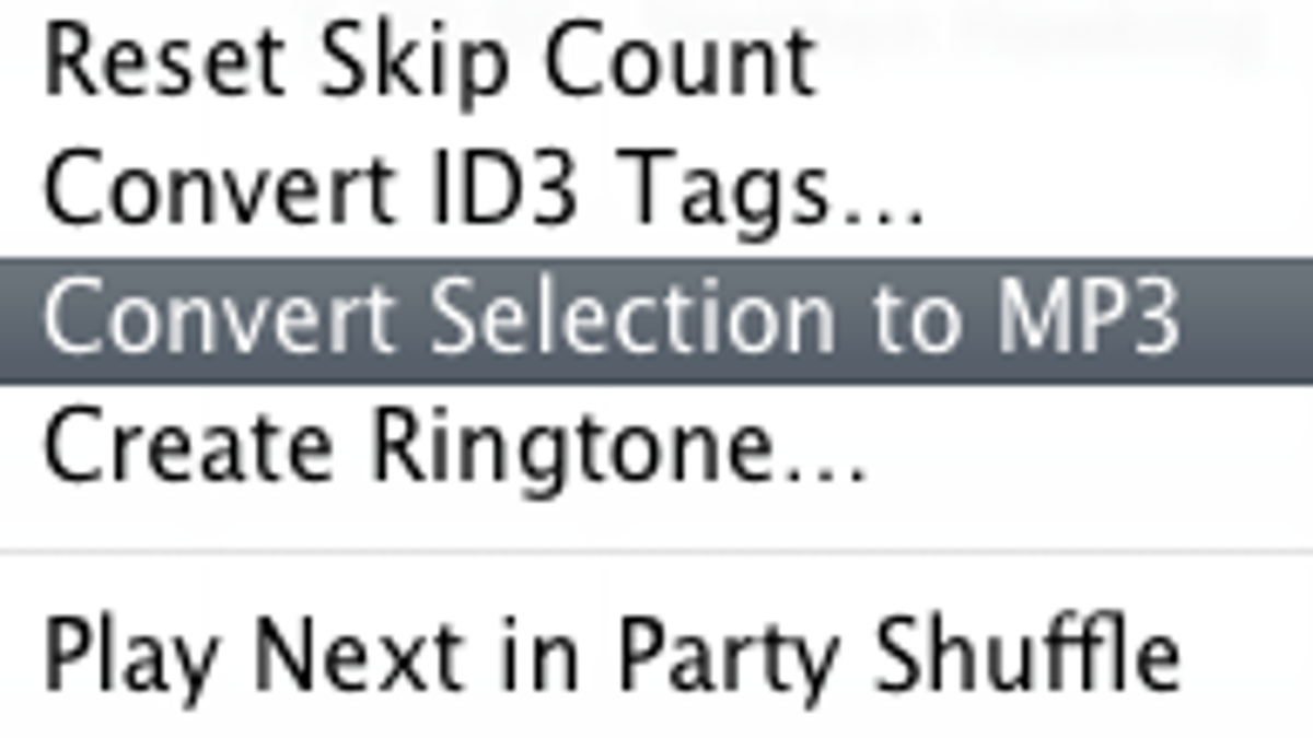 Create Individual Tracks from One Long Concert Track in iTunes