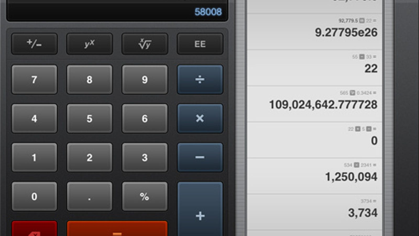 Calcbot For Ipad And Iphone Makes Calculating Prettier