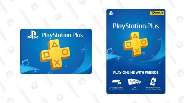 Amazon has 12 Months of PlayStation Plus and PlayStation Now for $42 Each
