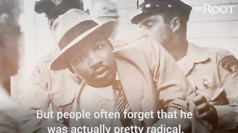 Dr. Martin Luther King Jr. Was a Radical Too screenshot