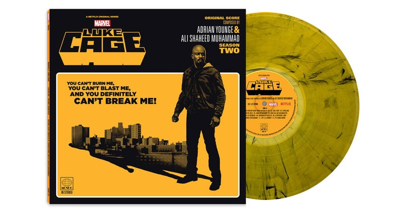 Illustration for article titled We're giving away a gorgeous vinyl copy of the Luke Cage season 2 soundtrack