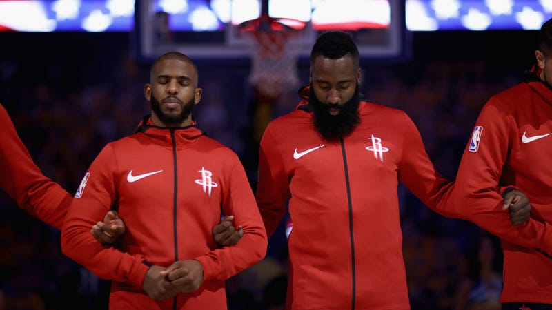 James Harden And Chris Paul Need Some Deep Breaths And A Long Hug
