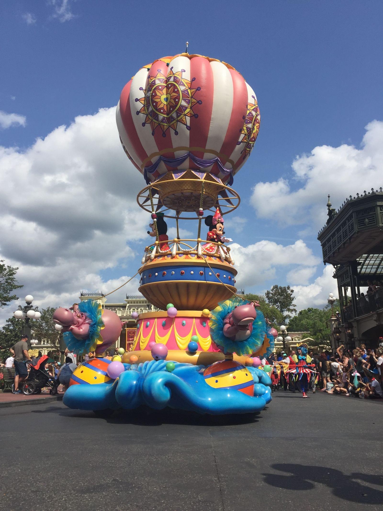 Hoy he ido por primera vez a Disney World. Ahora entiendo de dónde sale la magia realmente