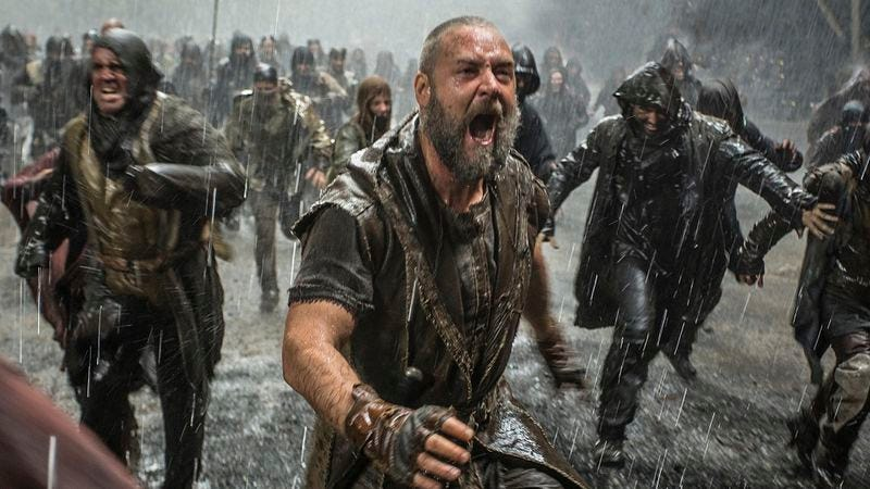 Illustration for article titled British premiere of Noah canceled due to flood