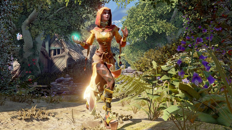 Screenshot from the cancelled Fable Legends