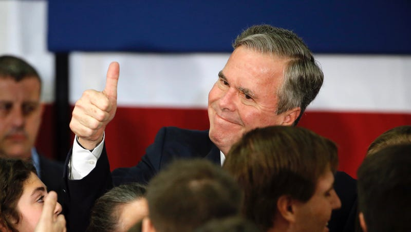 Illustration for article titled Jeb Bush Is Not A Joke; He's A Sack Of Shit