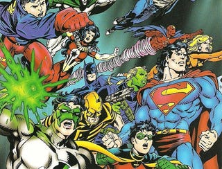 Illustration for article titled A History of DC Crossovers: The Dark Age