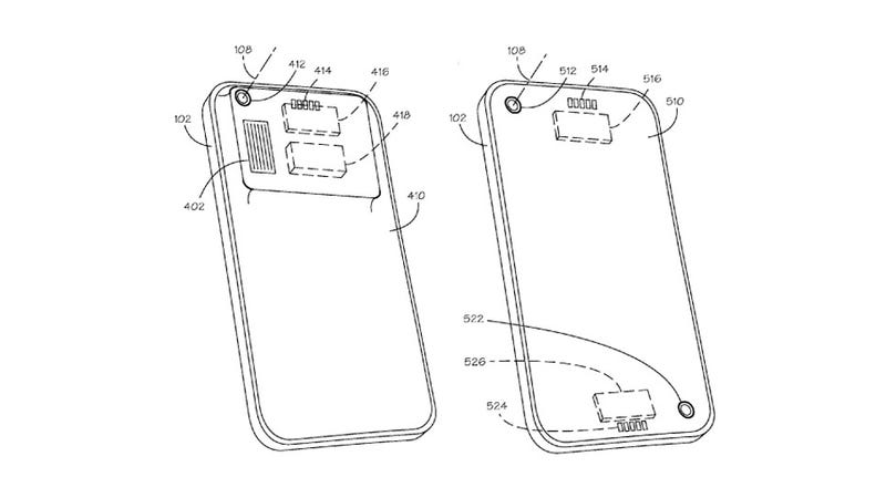 Illustration for article titled Future iPhones Could Have Interchangeable Camera Lenses