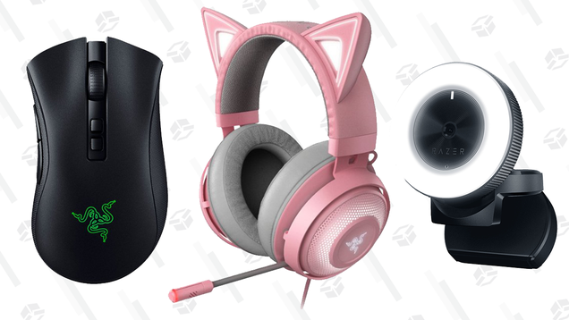 Get Big Savings on Razer Gaming Accessories, and Yes, That Includes the Cat Headset